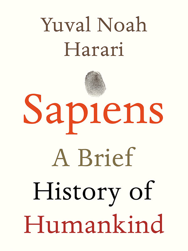 Sapiens - A brief history of men book